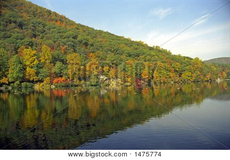 Hessian Lake At Bear Mountain