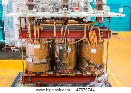 Damage Three Phase Transformer