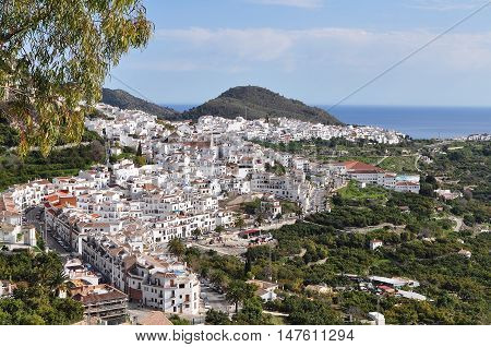 Spain - Frigiliana is a town in the province of Malaga