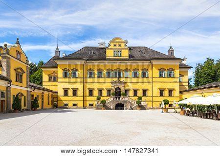 Schloss Hellbrunn - summer residence palace near Salzburg Austria