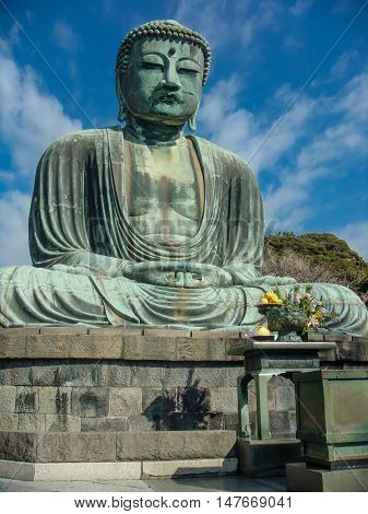 Kamakura Daibutsu (Amida Nyoyurai) Kotoku-in temple Tokyo