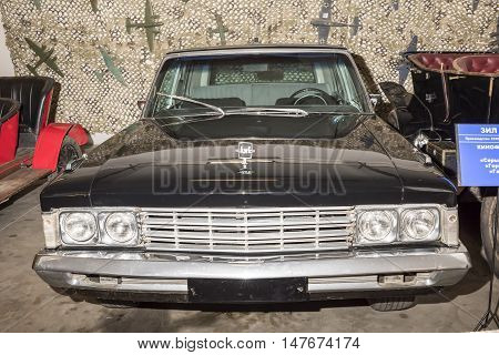 Moscow, Russia -September 4, 2016: Car ZIL-117 (1974) in