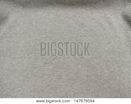 Grey Ribbed Cotton Background