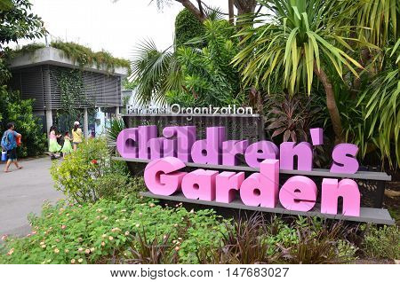 Childrens Garden At Gardens By The Bay