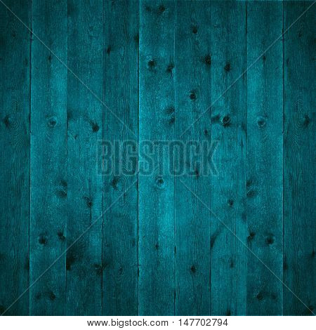 turquoise wooden texture or wood grain pattern background
