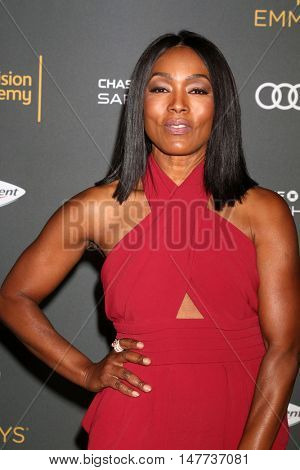 LOS ANGELES - SEP 16:  Angela Bassett at the TV Academy Performer Nominee Reception at the Pacific Design Center on September 16, 2016 in West Hollywood, CA