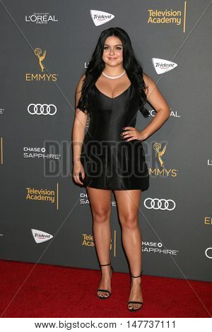 LOS ANGELES - SEP 16:  Ariel Winter at the TV Academy Performer Nominee Reception at the Pacific Design Center on September 16, 2016 in West Hollywood, CA