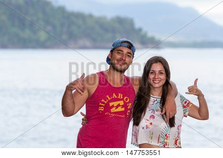 Young Costa Rican People