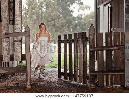 Bride In Gumboots