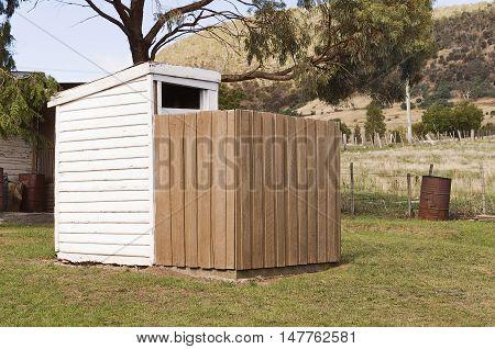 Outdoor Australian Toilet