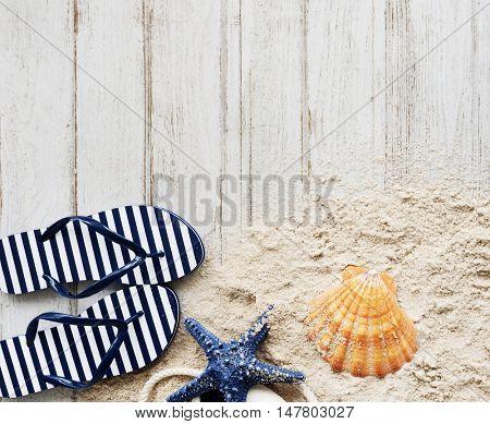 Beach Sand Rescue Flip flop Concept