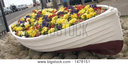 Nautical Flower Bed