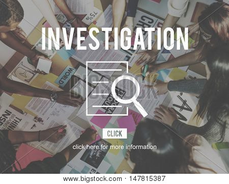 Investigation Results Research Discovery Concept