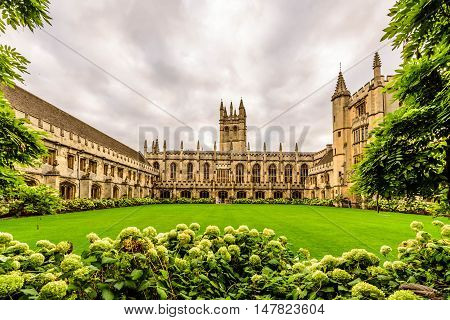 Magdalen College, Oxford University, Oxford, England, UK