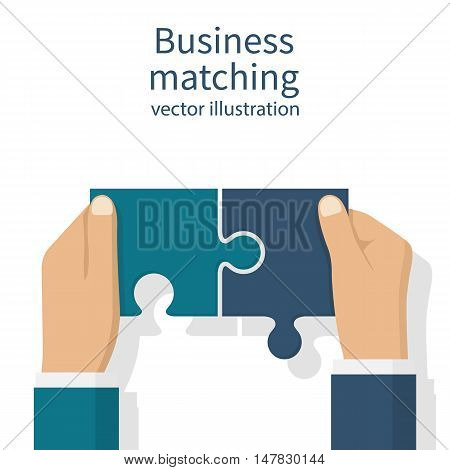 Business Matching Concept.