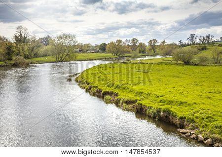 An image of a landscape scenery at bru na boinne