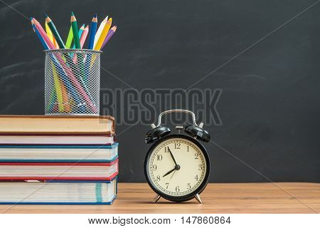 You Must Back To School On Time And Remember To Bring Textbook