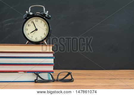 Don't Be Late When You Back To School And Don't Forget Your Glasses