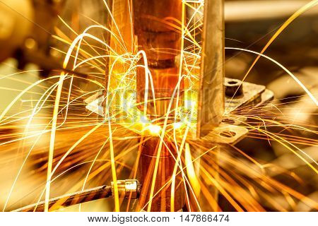 The Industrial welding automotive movement in thailand