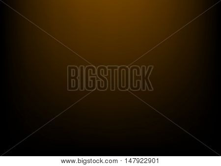 Clear studio dark brown vector background for product presentation