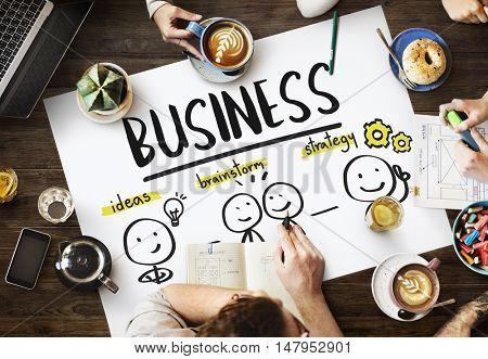 Business Organization Company Idea Concept