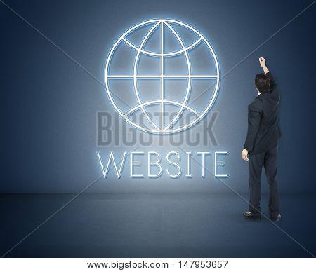 Website Internet Technology Globe Concept