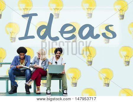 Ideas Innovation Tactics Thoughts Plan Concept