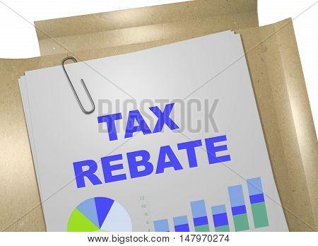 Tax Rebate Concept