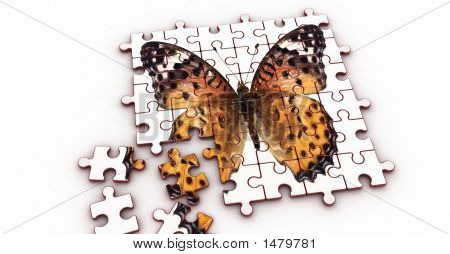 Puzzle (Butterfly)