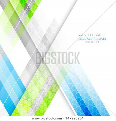 Vector background with abstract geometric pattern. Design with place for your content graphic project or creative editing.