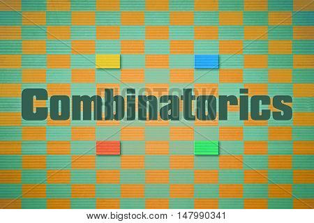 Design which relates to the branch of mathematics named Combinatorics