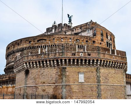 Hdr Castel Sant'angelo, Rome
