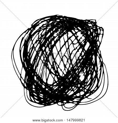 Pencil Hand Drawn Doodle Border