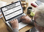 Pet Insurance Claim Document Form Concept poster