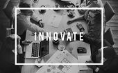 Innovate Innovation Invention Innovative Technology Concept poster