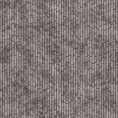 Brown Rectangle Slates Tile Pattern Repeat Background that is seamless and repeats poster