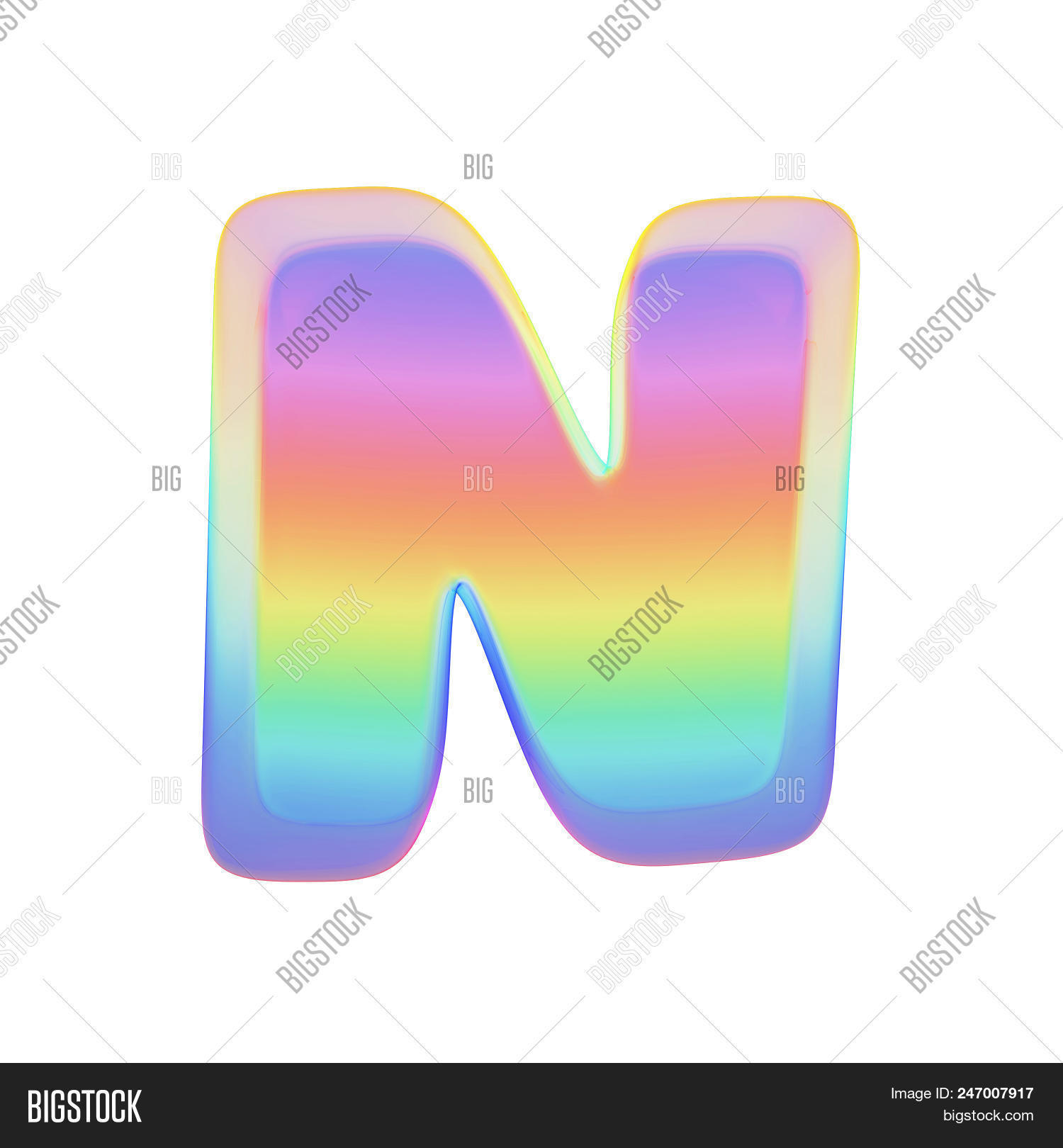 Alphabet Letter N Image & Photo (Free Trial) | Bigstock