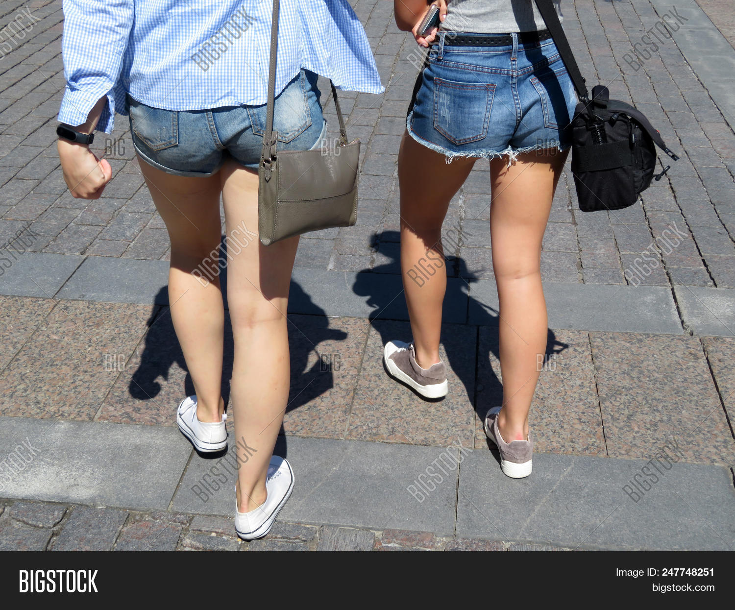Two Girls Walking Image & Photo (Free Trial) | Bigstock