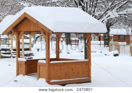 Timber House Winter