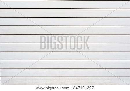 White Plastic Siding Panels For Texture Background