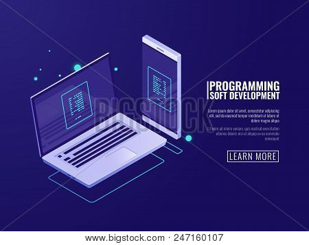 Programming And Development Of Computer Programs, Mobile Application, Laptop And Mobile Phone With C