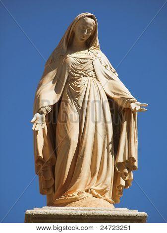 Elegant and Beautiful Mary