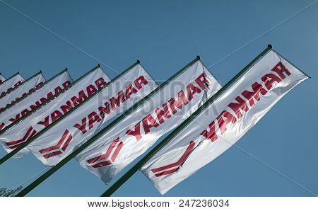 Yanmar Flags In Amsterdam