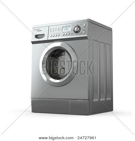 Washing Machine. 3D
