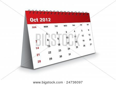 October 2012 - The Calendar series