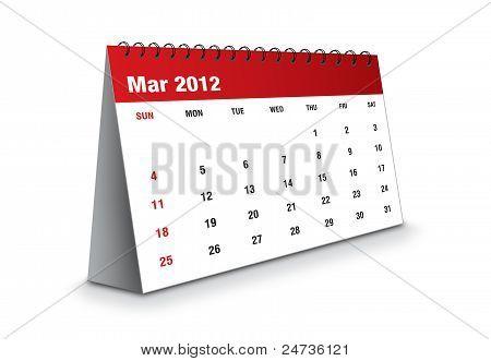 March 2012 - Calendar series