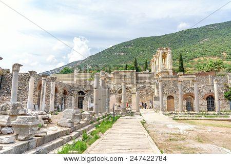 Ephesus Ancient City Ruins