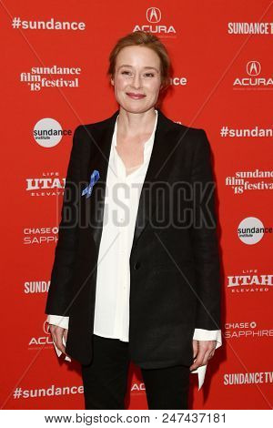 PARK CITY, UT - JAN 22: Actress Jennifer Ehle attends 'The Miseducation of Cameron Post' premiere at the 2018 Sundance Film Festival at Eccles Theater on January 22, 2018 in Park City, Utah.