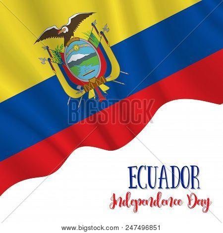 10 August Ecuador Vector Photo Free Trial Bigstock