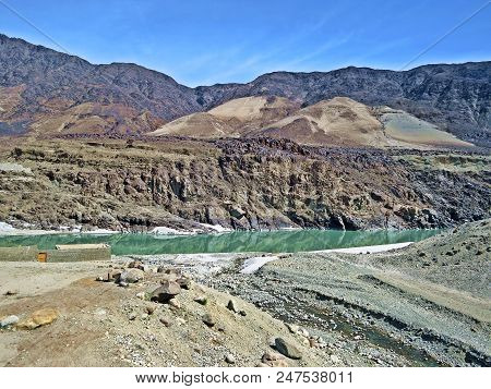 The Indus River Is One Of The Longest Rivers In Asia. Originating In The Tibetan Plateau The River I